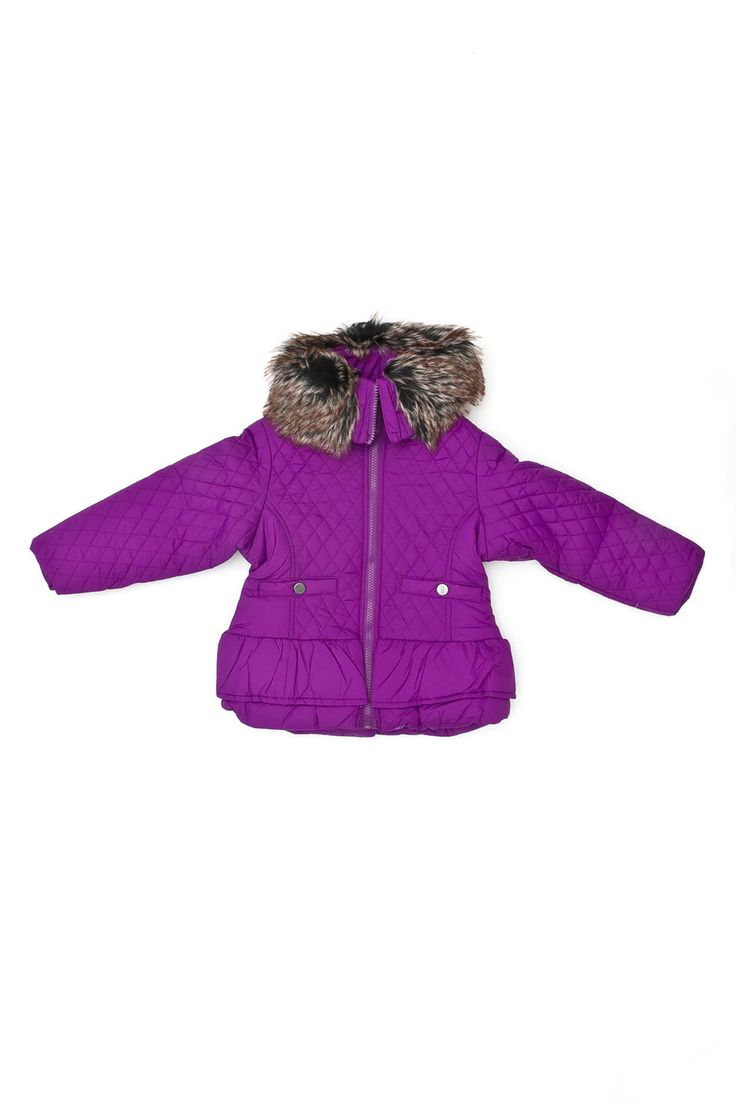 $18- sizes 4, 5, 6, 6x. Steve Madden Girls' Bubble Jacket in Plum - Beyond the Rack CANADA  #canada #kids #childrens #clothing #online