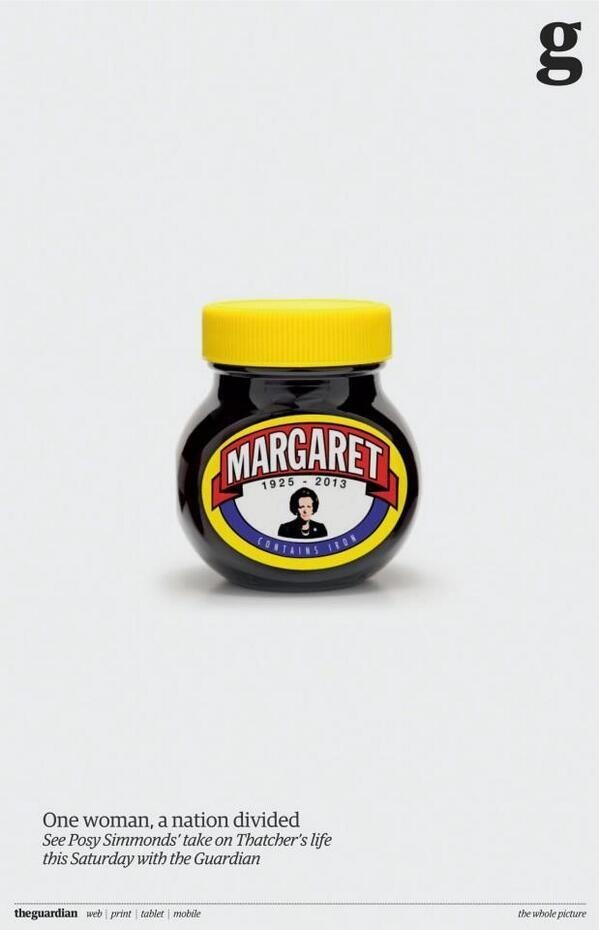 Marmitaggie - Marmite Maggies good work on the Guardian