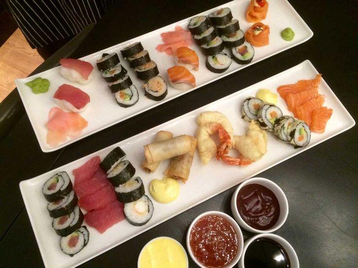 Sushi #Cloudsestate #maki #springrolls #nigiri http://cloudsestate.com/home-8.html