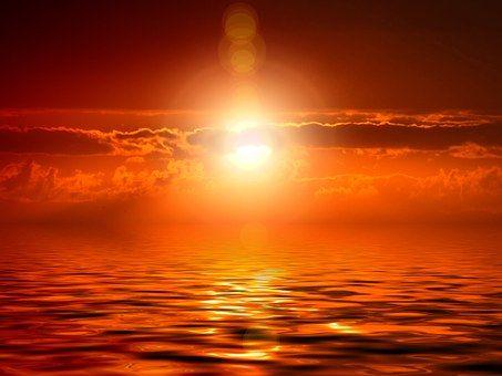 Západ Slunce, Mrak, Meditace