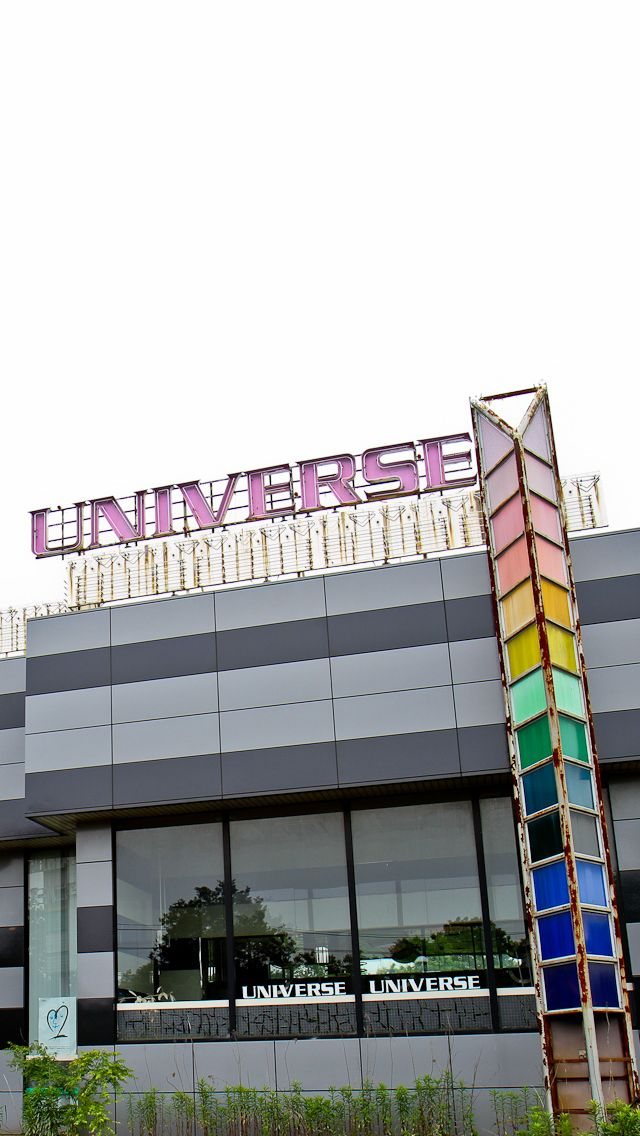 """End of the Universe"". The abandoned remains of the Universe Arcade in Japan."