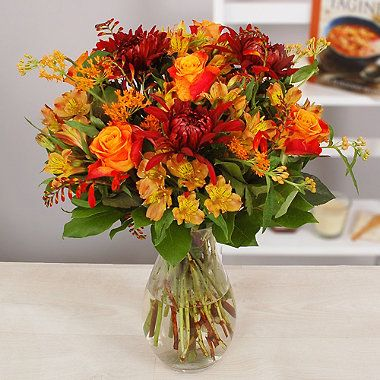 Bright Autumn Days Bouquet With Free Express Delivery - From Lakeland http://www.lakeland.co.uk/search/flowers/c01.r38.1?arc=pinit