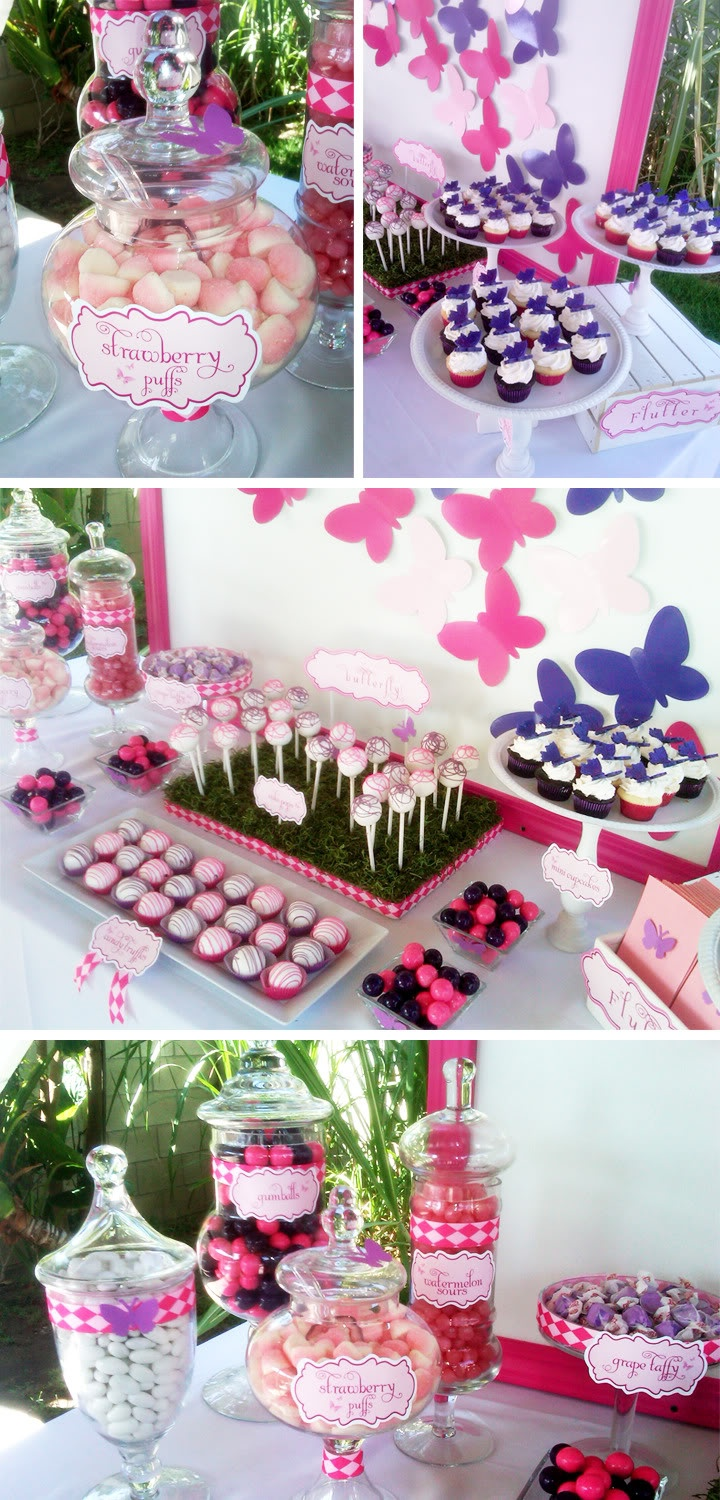 38 best ButterflyFairy Theme Birthday Party images on Pinterest