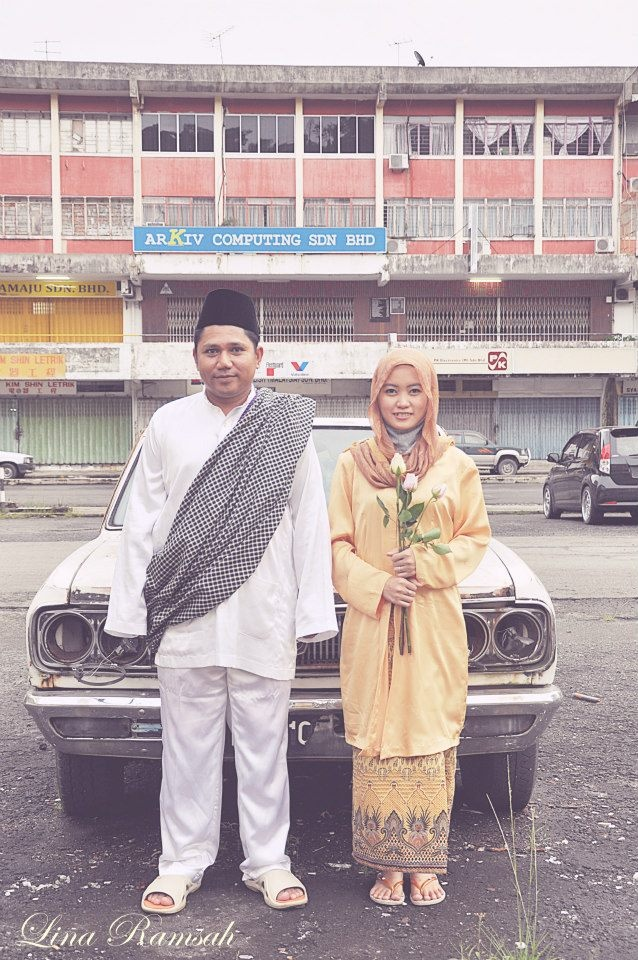 pre wedding photoshoot location malaysia%0A Malay vintage prewedding photo
