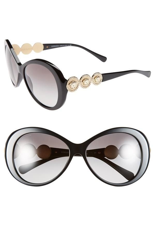 Love! Versace Round Sunglasses