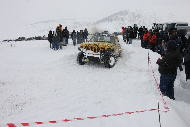 Ordu Çambaşı Kar Festivali Off road Gösterileri