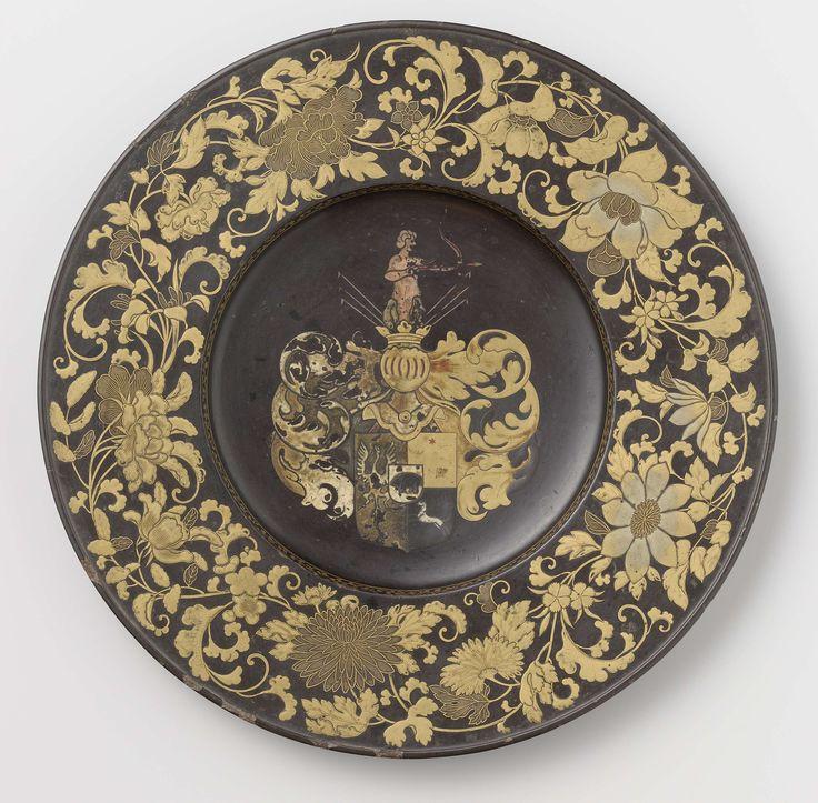 Wandbord, anoniem, ca. 1650 - ca. 1660