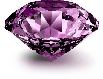 pha lê kim cương màu tím đẹp