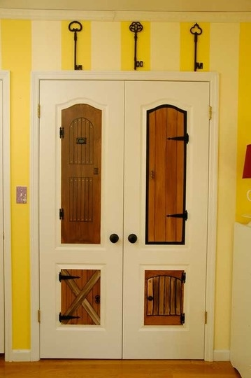 handpainted doors from Alice in Wonderland nursery & 24 best Emma\u0027s Alice in Wonderland Doors images on Pinterest ...