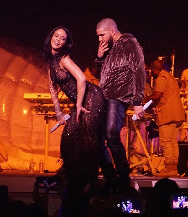 Rihanna Twerks On Drake During Surprise 'Anti' Show Duet & It's Super Hot —Video