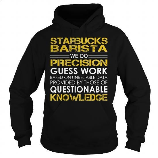 Starbucks Barista Job Title - #cheap shirts #hoodies for boys. ORDER HERE => https://www.sunfrog.com/Jobs/Starbucks-Barista-Job-Title-Black-Hoodie.html?60505