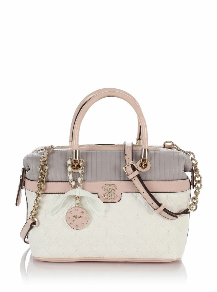 Merci Large Box Satchel Bag | GUESS.eu