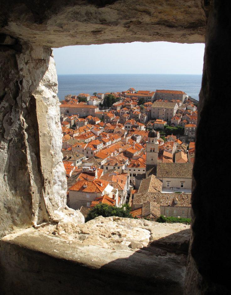 クロアチア、ドブロヴニク旧市街