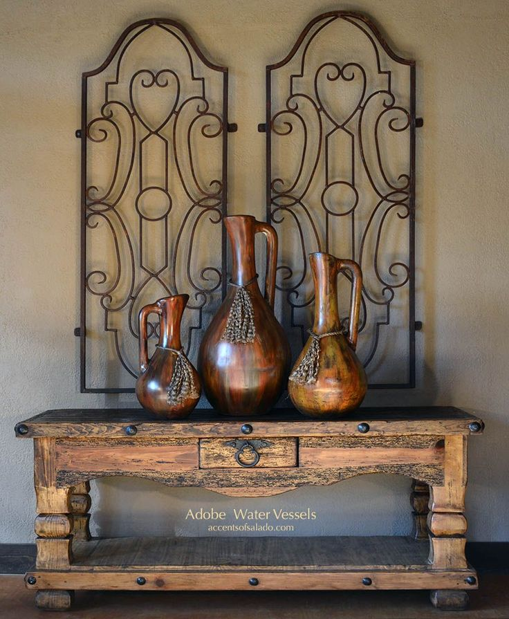 Adobe Rustic Vases NEW at Accents of Salado. Online.