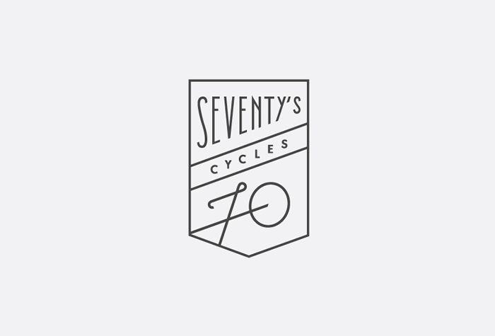 Seventy's Cycles logo by Studio Patten