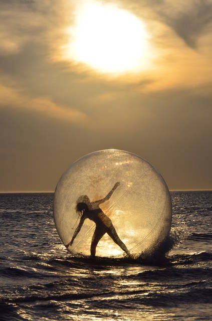 I feel like a bubble ..