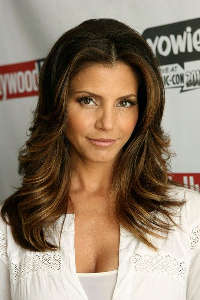 Charisma Carpenter, beautiful Native American woman belonging the Cherokees. O