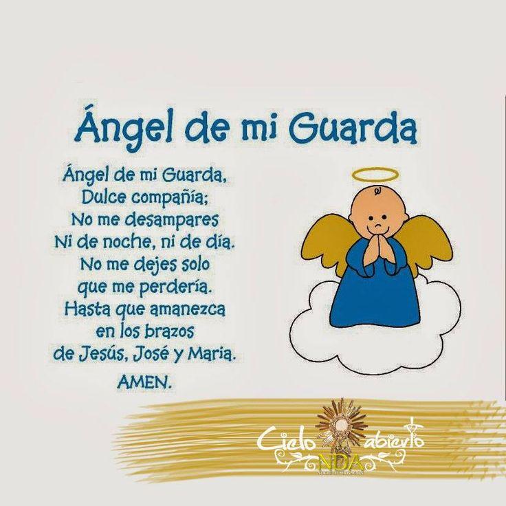 Angel de mi guarda...
