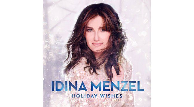 """Broadway and film star Idina Menzel's """"Holiday Wishes"""" is a new and popular Christmas album of mainly standards"""