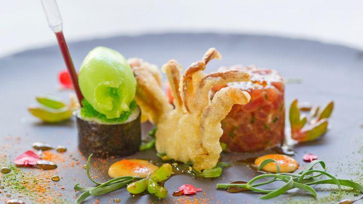 One-O-One Restaurant, 50% off £79 tasting menu - Kensington. Best fish restaurant in London.