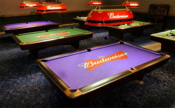 Custom Design Pool Table Felt With Matching Printed Rail Cloth Pool Table Pool Table Felt Custom Pool Tables