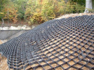 Geocell GS Slope Protection