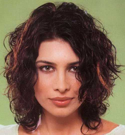 22.Curly Layered Hairstyle