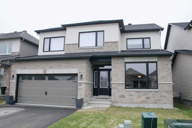 BRADLEY ESTATES. ORLEANS WEST $639,900 Executives to Professionals! Better than NEW, only 2 yrs old, built as a DREAM HOME. Just across a park. Over 65K spent in upgr. Hwd flrs thru to 2nd lvl. A gem.