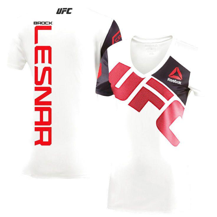 UFC Brock Lesnar Reebok Women's Jersey - White - $59.84