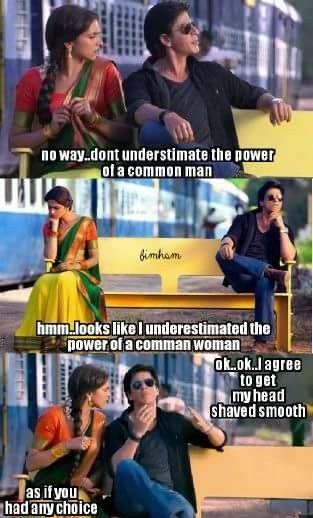 Headshave Meme Humour Deepika Srk Chennaiexpress -5914
