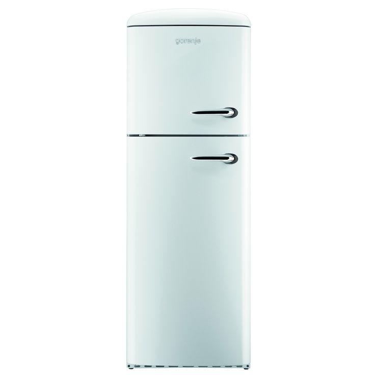 Gorenje 60cm Freestanding Retro Fridge Freezer Left Hinge RF60309OW-L (£650)