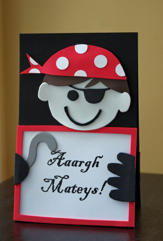Pirate Party Centerpiece  Double Sided by HatterandHareEvents, $15.00
