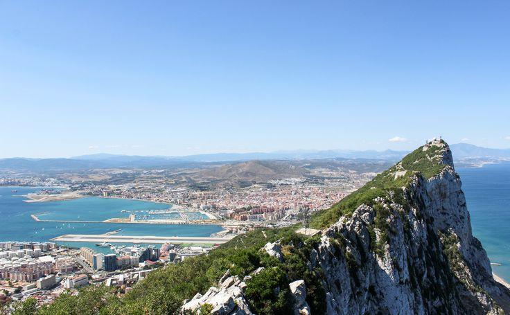 Upper Rock Nature Reserve, Straits of Gibraltar,Gibraltar Bay,Mediterranean, Gibraltar,British Overseas Territory, La Linea de la Concepcion, Spain, Europe | www.DoLessGetMoreDone.com |