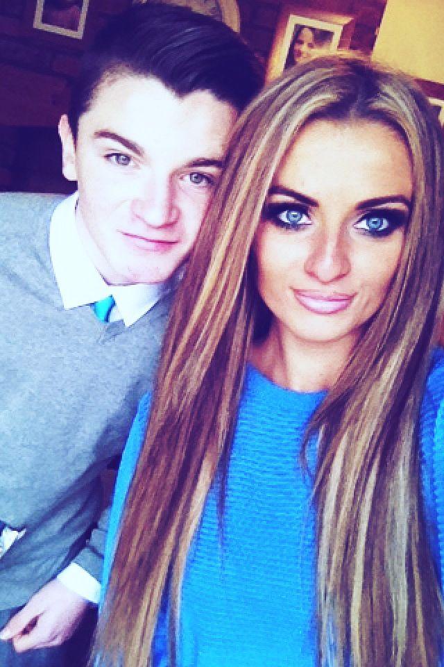 #selfie #brother #sister #family #blueeyes #love   Selfie