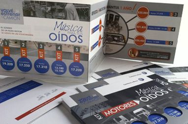 """Campaña """"Música para tus oídos"""" >> Catálogo - Flolletos - Afichetas - Banners"""