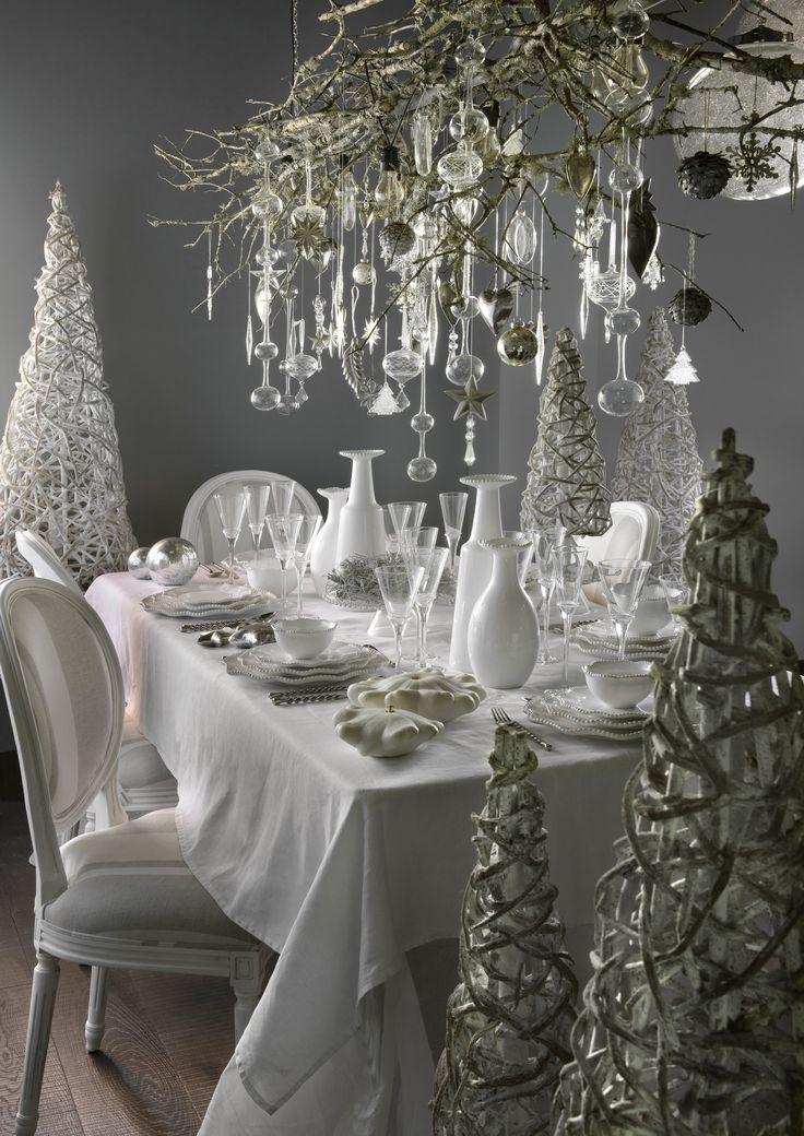 7 best images about c 39 est no l on pinterest snowflakes - Table passion vaisselle ...