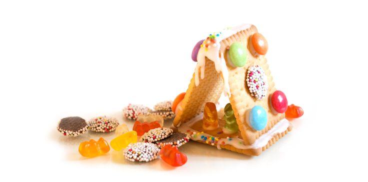 Möchtegern Lebkuchenhaus aus Butterkeksen » fraumau