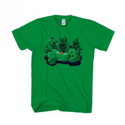 Minecraft Creeper Game T-shirt Apparels | IdolStore