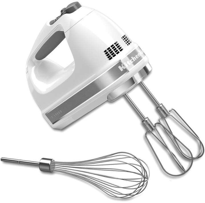 Kitchenaid 7speed digital hand mixer with turbo beater ii
