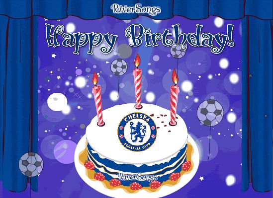 Chelsea FC Birthday Card, view the full greeting with music here: http://www.riversongs.com/e-cards/chelsea_birthday.html