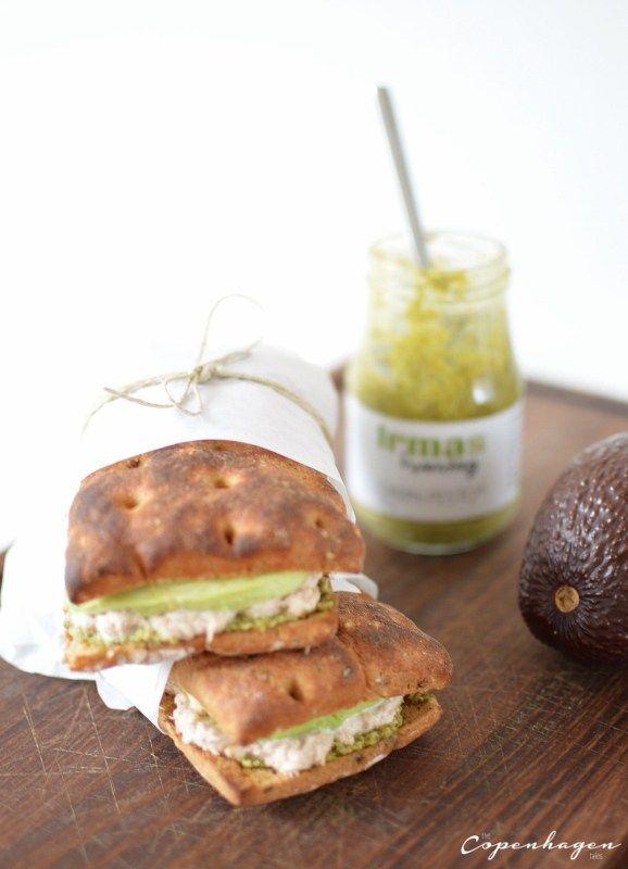 Copycat Joe & The Juice Tunacado sandwich