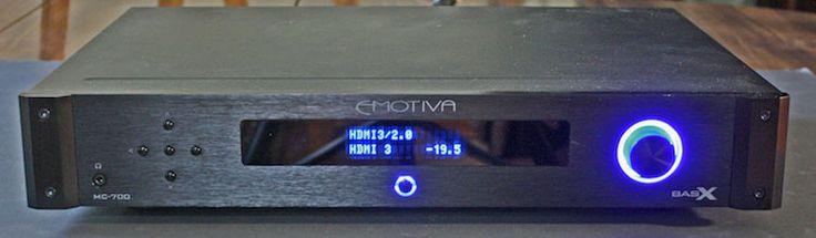 Emotiva BasX MC-700 Surround Sound Processor - Front View