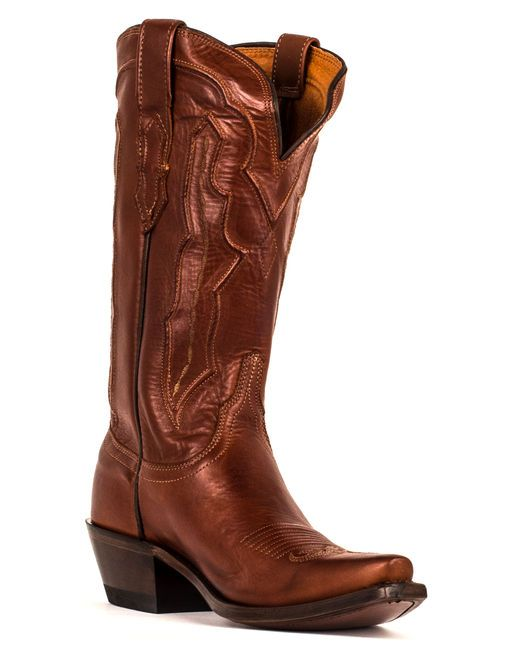 Lucchese Tan Ranch Hand Boots from Country Boots Outfitter http://www.countryoutfitter.com/products/29861-womens-tan-ranch-hand-boot