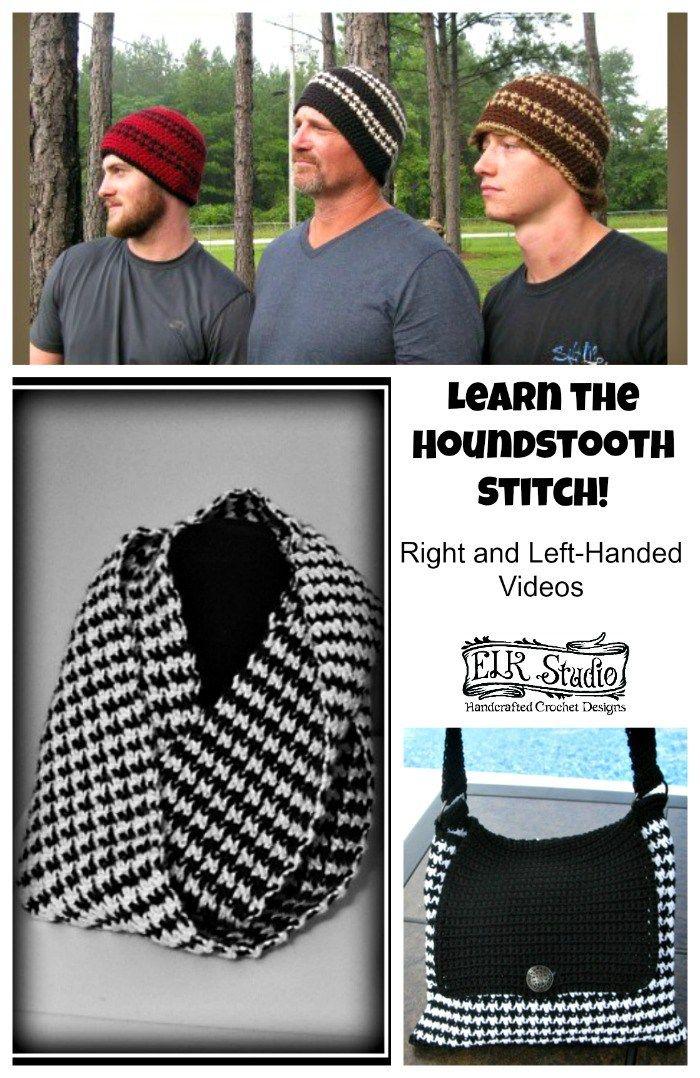 Houndstooth Stitch Video Tutorial