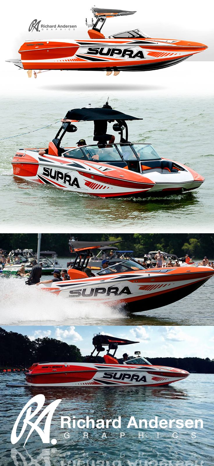ra wrap design - Boat Graphics Designs Ideas