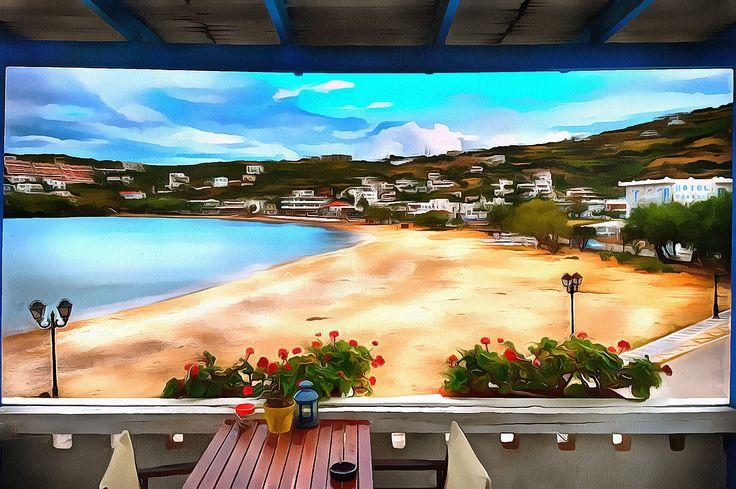 My favorite view Batsi, Andros, Greece