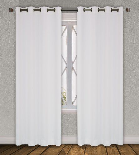 Luxura Room Darkening, Insulated Grommet Window Curtain Set (2 pieces) in White-Out White LJ Home Fashions http://www.amazon.com/dp/B008HYUZBK/ref=cm_sw_r_pi_dp_7SRSub1WJFAPH