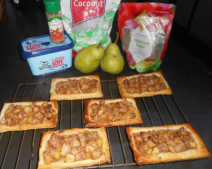 Yummy pear pastries! So easy and so delicious!