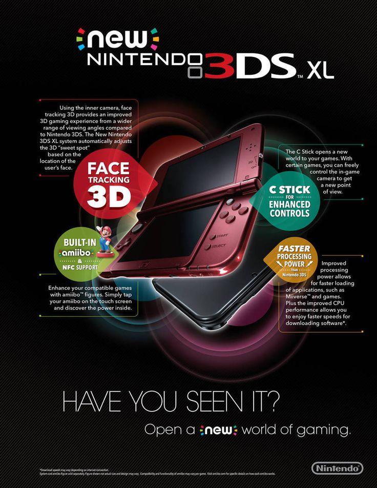 Nintendo New 3DS XL - Black : Target
