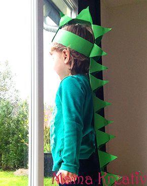 Dino-Kostüm selber machen #dinosaur #dinosaurier #crafts #basteln #kostüm #kinder